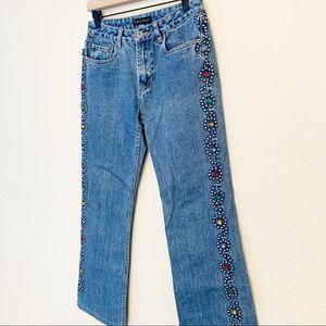VTG Buffalo David Bitton Studded High Rise Jeans